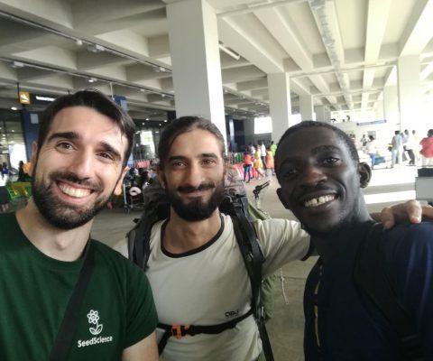We're in Ghana!