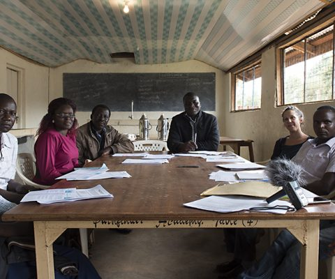 We started our training in Kenya!